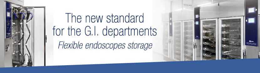 Steelco Endoscope drying and storage cabinets