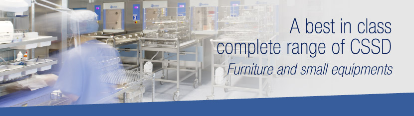 Steelco Medical furniture