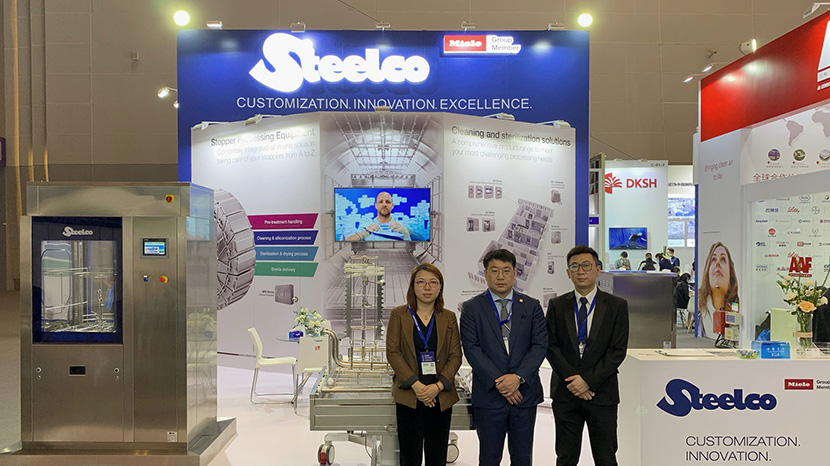 Steelco in CIPM 2020 China