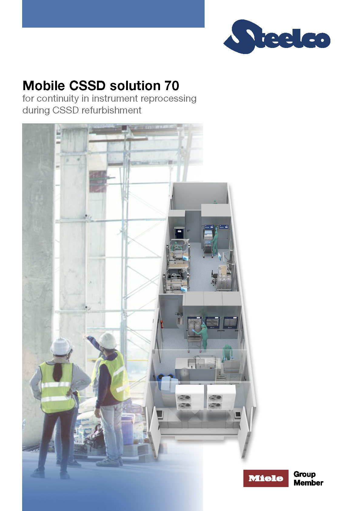 Mobile CSSD solutions