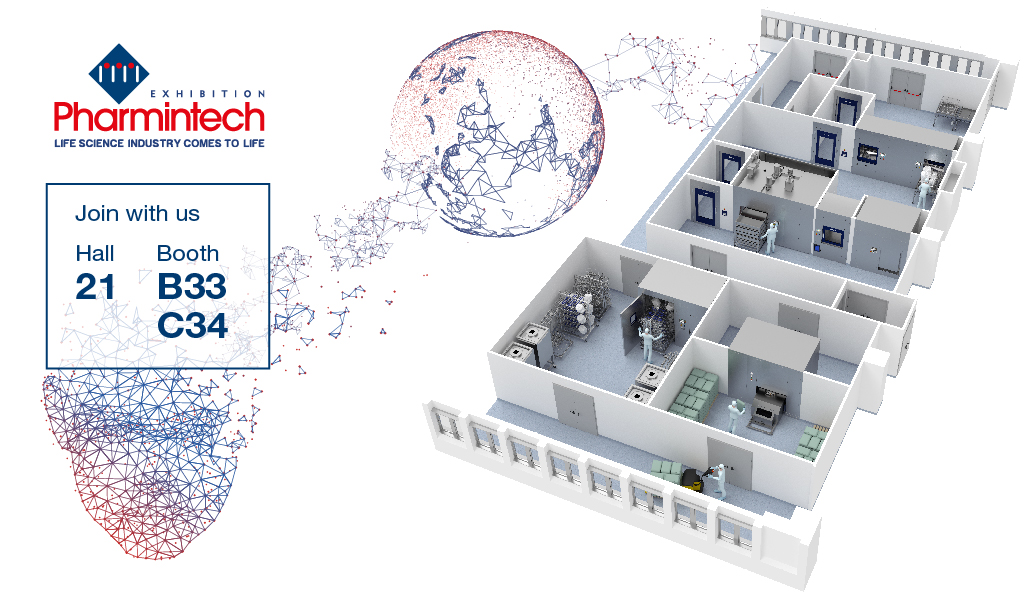 Come to visit us at Pharmintech 2019