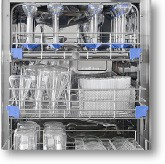 Glassware washer disinfectors