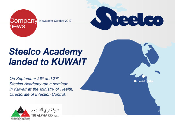 Steelco Academy  landed to KUWAIT