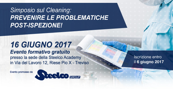 Simposio sul cleaning in Steelco Academy